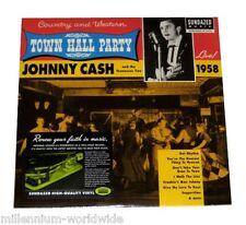 "SEALED & MINT - JOHNNY CASH - TOWN HALL PARTY LIVE 1958 − 12"" VINYL LP RECORD"