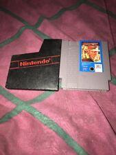 Vtg Indiana Jones and the Temple of Doom NES (Nintendo) Game Cartridge+Sleeve
