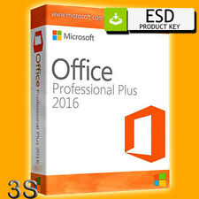 OFFICE 2016 PROFESSIONAL PLUS 32/64 Bit LICENZA PRODUCT KEY MULTILANGUAGE
