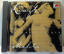 Liszt Symphonic Poems (Sony Classical, 1997) (cd1774)