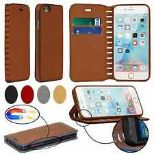 Luxury Wallet Flip Cover Stand Leather Designer Magnetic Case for Mobile Phones