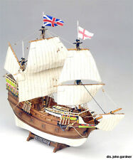 """Famous, Authentic Wooden Model Ship Kit by Mamoli: the """"Mayflower"""""""