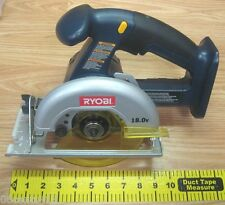 "Ryobi (P501) 5 1/2"" 140MM 18.0V Cordless Circular Saw w/ Guide Only **No Blade**"