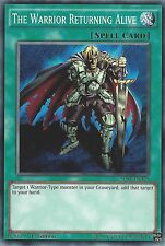 YU-GI-OH CARD: THE WARRIOR RETURNING ALIVE - SDSE-EN029 1ST EDITION