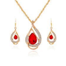 Mujer Collar Gargantilla Colgante Cristal Gato Pendientes Aretes  Kit