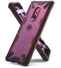 For Sony Xperia XZ3 | Ringke [FUSION-X] Clear Back Shockproof Bumper Cover Case