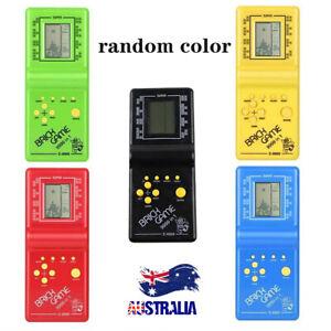 Kids Electronic Tetris Brick Game Handheld Game Machine LCD Educational Toy