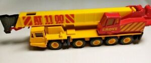 Matchbox Grove AT 1100 Crane - Diecast Toy - Approx 7 Inches Long - No Box