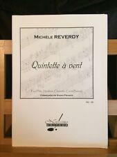 Michèle Reverdy Quintette a vent partition éditions Notissimo