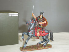 Thomas Gunn ROM094B Roman Cavalry Officer Mounted Ready for Action Toy Soldier