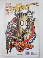 GROOT #3 (2015) MARVEL COMICS ROCKET & GROOT VARIANT COVER! 1ST PRINT NM