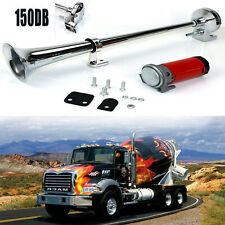 Universal 150DB Single Train Trumpet Car Air Horn Compressor with Super Loud 12V