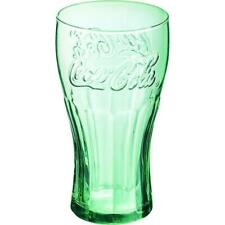 More details for personalised 1pt georgia green coca-cola coke glass soft drinks home bar new