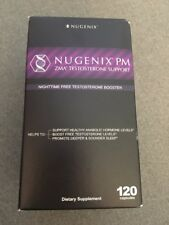 New Nugenix PM ZMA Men Testosterone Support Booster Night Time 120 Capsules