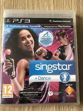 SINGSTAR DANCE PS3 PLAYSTATION 3 FRANÇAIS NEUF BLISTER NEW SEALED