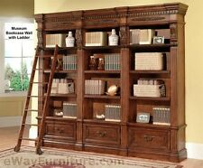 Parker House Grand Manor Granada Museum Bookcase Wall Wood Home Furniture