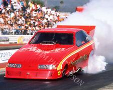 FUNNY CAR PHOTO JIM DUNN FIREMANS QUICKIE DRAG RACING POMONA 1986 NHRA