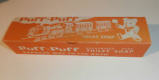 VINTAGE BOX OF CHILDRENS PUFF PUFF RAILWAY TRAIN SOAP - MINT UNUSED