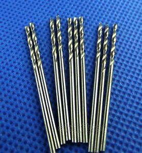 10pcs Small 1.1mm PCB Drill Mini Press HSS Electrical Twist Drilling