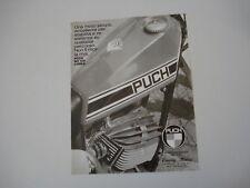 advertising Pubblicità 1975 MOTO PUCH MC 125 CORSA