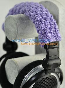 Hand Woven Pure Wool Headband Cushion For AKG K701 K702 Q701 Headphones