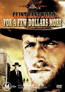For A Few Dollars More DVD Clint Eastwood New and Sealed Australia Region 4