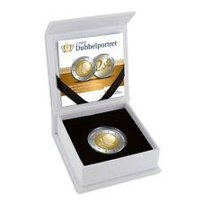 """**NEDERLAND PROOF SET 2013 2 Euro """"DUBBELPORTRET"""" PP**"""