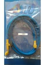FRUSTA TUBO FLESSIBILE BLU 45° MT.1.5 CON RUBINETTO 1/4X1/4 R134-R407C-R422