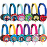 LEXIBOOK KIDS STEREO HEADPHONES FOLDABLE ADJUSTABLE DISNEY TOYS - 13 DESIGNS