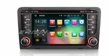"Autoradio 7"" Android 9.0 DAB+ GPS TPMS Bluetooth AUDI A3 S3 RS3 RNSE Navigatore"