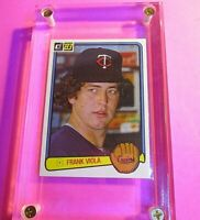 Frank Viola 1983 Donruss Rookie RC baseball card, MINT+ High Grade
