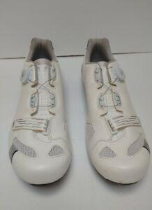 Scott Road Comp Boa Cycling Shoes White Men's Size 12.5 US / 47 EU (VGUC)
