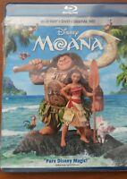 Disney MOANA       BR+DVD+Digital Code (with  sleeve)