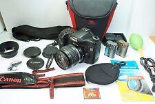 Kit Canon EOS 40D Digital SLR camera Lens EF-S II 18-55 mm TEST