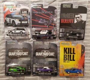 Greenlight Lot of 6 Miscellaneous Cars *MIB* #7
