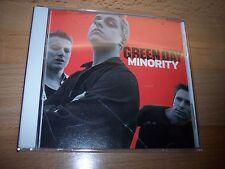 2000 Green Day Minority PROMO CD Single