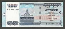 Bangladesh 100 Taka 2002; UNC; P-42; L-B336a; Mosque; Bridge; Power lines