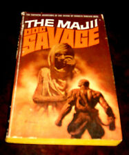 Doc Savage 60 The Majii by Kenneth Robeson 1st Bantam edition 1971