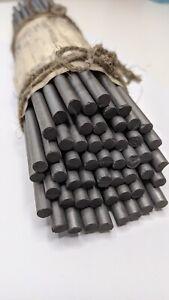 Graphitstab Graphitelektrode Graphitanode Kohlenstoffelektrode 6x250mm 20Stüc.