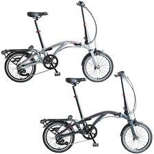 Dahon hizo Curl i4 4 Gang 16 pulgadas bicicleta plegable bicicleta ralentí iluminación