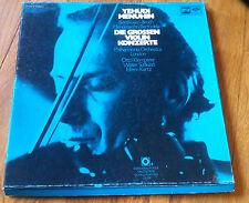 Yehudi Menuhin Beethoven, Bruch, Mendelssohn-Barhtoldy Die gr. Violin Konzerte