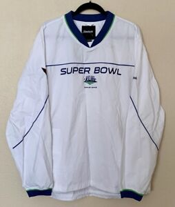 Super Bowl XLIII 43 mens windbreaker Sz Large White  2009 Cardinals NWT