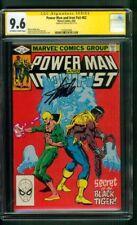 Power Man Iron Fist 82 CGC SS 9.6 Stan Lee Sign 1982 3rd Sabretooth TV Key