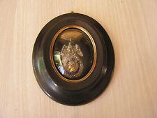 superbe medaille cadre reliquaire napoleon