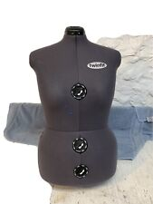 Twinfit 13 Dials Adjustable Dress Form Sewing Female Mannequin Torso Large