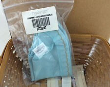 Longaberger 2003 Small Easter Basket Liner Only Robins Egg Blue Nib