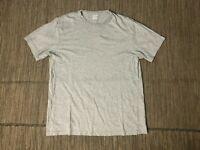 J Crew Factory Adult Mens Medium Washed Tee T Shirt Short Sleeve Gray 53362