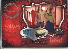 Buffy Tvs Connections Dual Pieceworks Card Pwc-3 Willow & Tara Jeans & Top