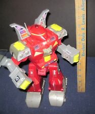 Pair of Two Rare 2001 GoldLok (Red and Blue) Vintage Toy Robot Battlebots
