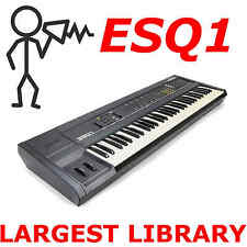 Ensoniq ESQ-1 ESQ-m Largest Collection Patch Sound Program Library